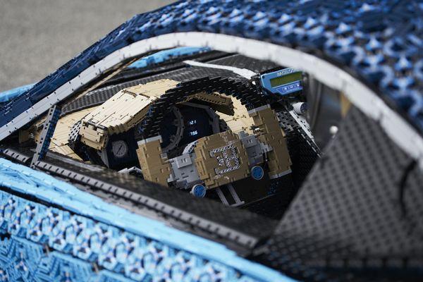Lenkrad Legotechnic