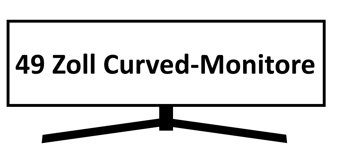 49 Zoll Curved Monitore Test